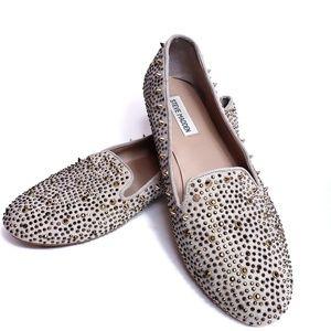 Steve Madden | Granite studded flats loafers